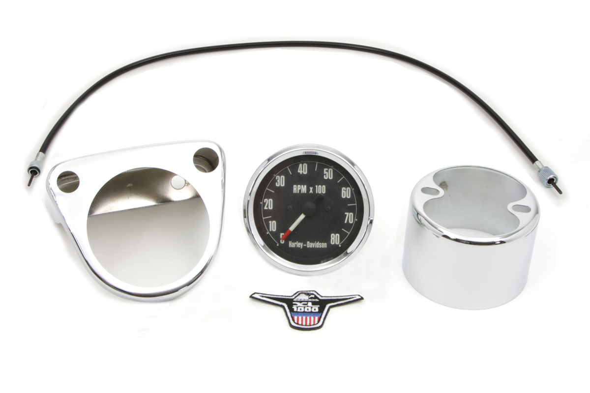 V-Twin 39-0762 - Tachometer Kit with 2:1 Ratio