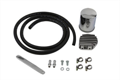 V-Twin 40-0098 - Oil Cooler Filter Kit