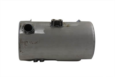 V-Twin 40-0189 - Round Oil Tank Raw Side Fill