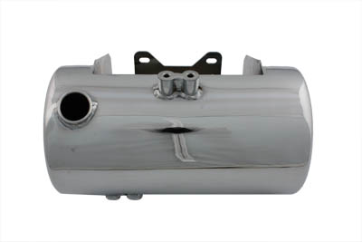 V-Twin 40-0191 - Chrome Round Side Fill Oil Tank