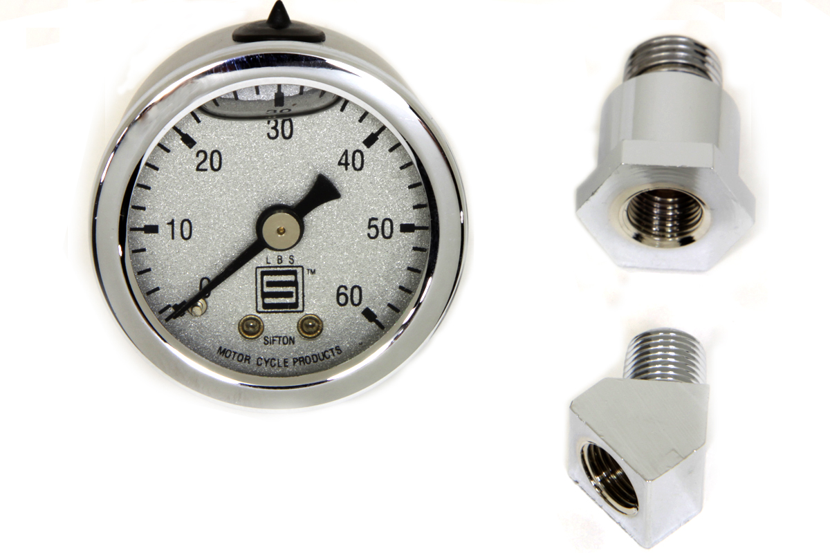 V-Twin 40-0572 - Oil Pressure Gauge