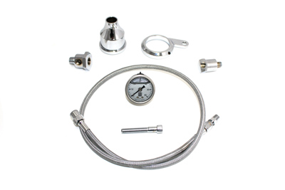 V-Twin 40-9971 - Oil Pressure Gauge Kit