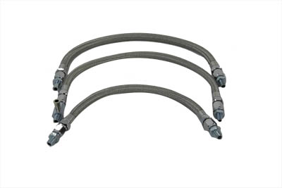 V-Twin 40-9995 - Oil Line Set Without Elbows