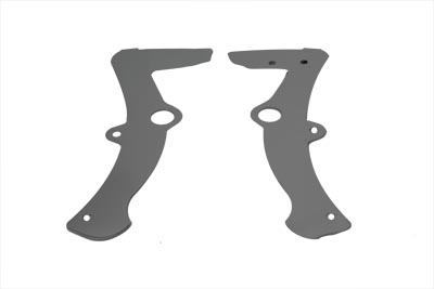 V-Twin 42-0001 - Rear Frame Cover Set Chrome