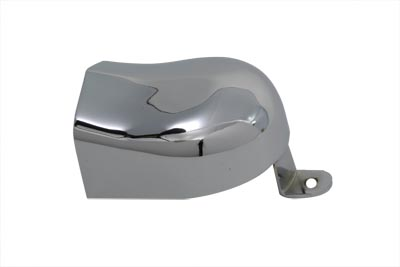 V-Twin 42-0052 - Horn Cover with Tab Chrome