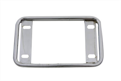 V-Twin 42-0063 - License Plate Frame Tubular Style Chrome