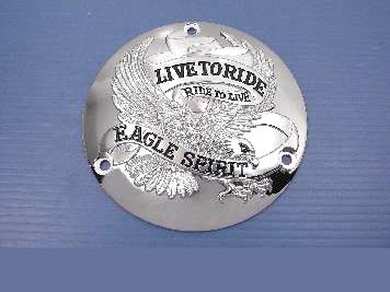 V-Twin 42-0107 - Eagle Spirit Derby Kit Chrome