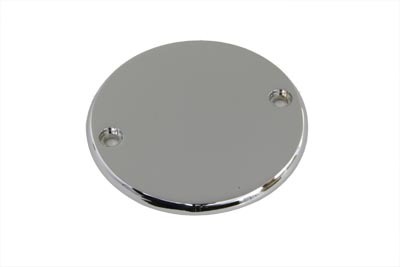 V-Twin 42-0155 - Smooth Ignition System Cover 2-Hole Chrome