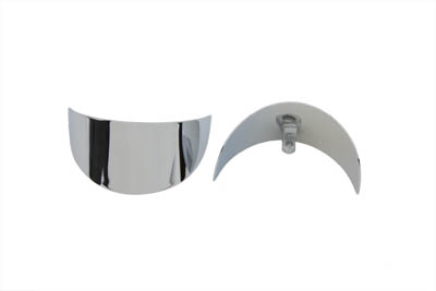 V-Twin 42-0199 - Chrome Turn Signal Visor