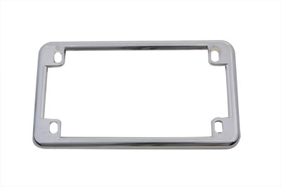 V-Twin 42-0210 - License Plate Frame Chrome