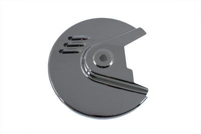 V-Twin 42-0337 - Chrome Rear Brake Disc Cover