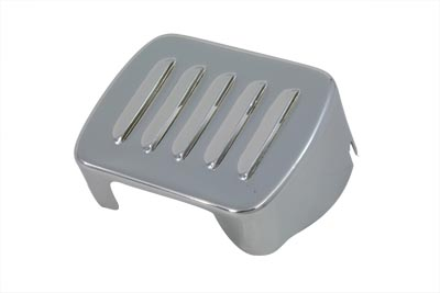 V-Twin 42-0417 - Louvered Chrome Coil Cover