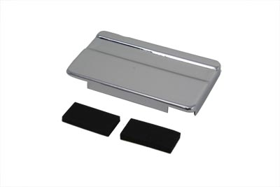 V-Twin 42-0512 - Chrome Battery Top Cover