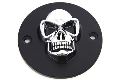 V-Twin 42-0560 - Black Skull Style Point Cover