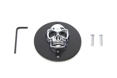 V-Twin 42-0561 - Black Skull Style Point Cover