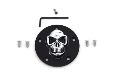 V-Twin 42-0562 - Black Skull Style Point Cover