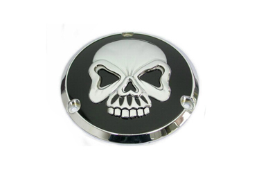 V-Twin 42-0580 - Skull Design Derby Cover