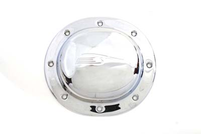 V-Twin 42-0628 - Bird Style Derby Cover Chrome