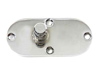 V-Twin 42-0630 - Oval Inspection Chrome Left Side