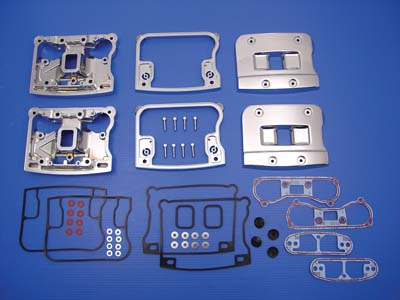 V-Twin 42-0787 - Chrome Rocker Box Cover Set