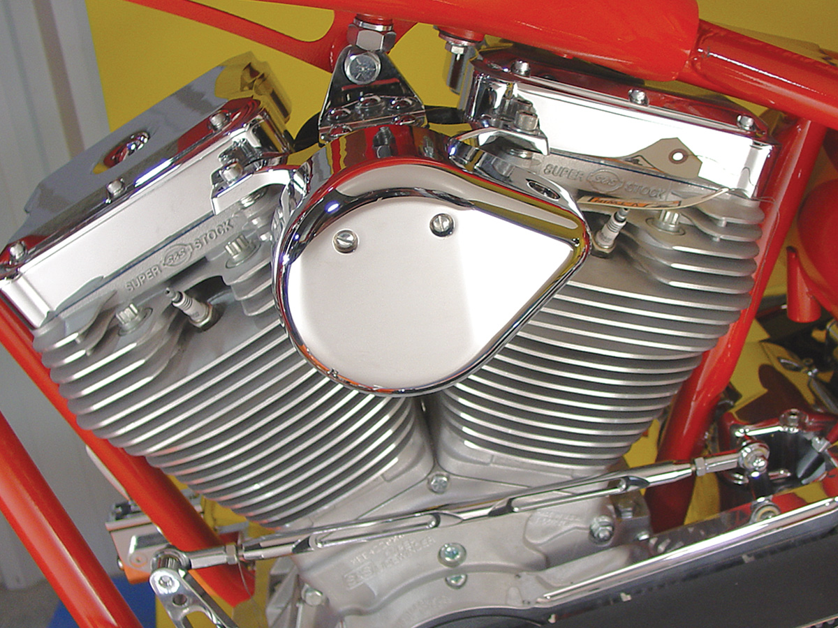 V-Twin 42-0926 - Chrome Tear Drop Coil Cover