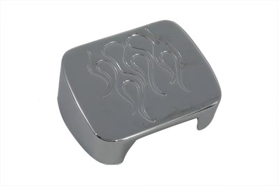 V-Twin 42-1030 - Chrome Flame Coil Cover