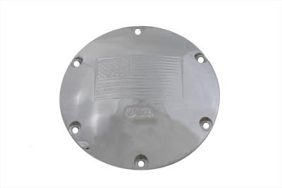 V-Twin 42-1045 - Chrome Derby Cover
