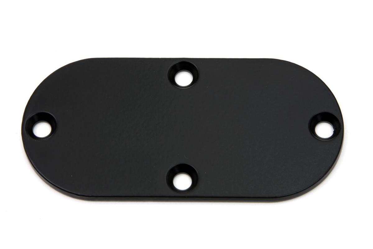 V-Twin 42-1274 - Oval Inspection Cover Black