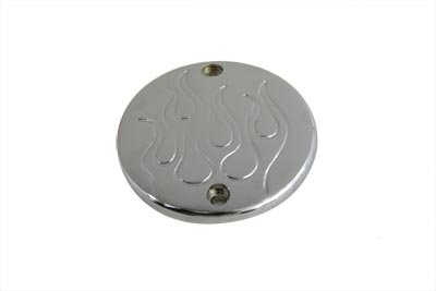 V-Twin 42-5522 - Chrome Flame Ignition System Cover