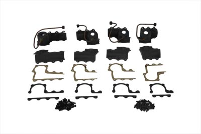 V-Twin 42-6174 - Lower Valve Spring Cup Set Parkerized