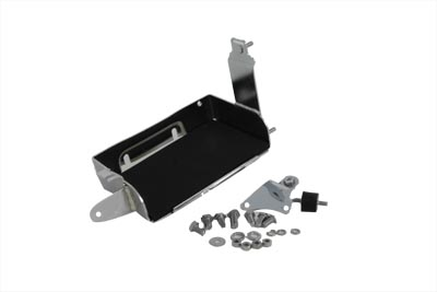 V-Twin 42-9915 - Chrome Battery Carrier Kit