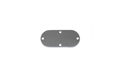 V-Twin 42-9927 - Oval Inspection Cover Chrome