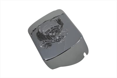 V-Twin 42-9969 - Chrome Eagle Spirit Coil Cover