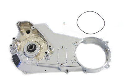 V-Twin 43-0244 - Chrome Inner Primary Cover Assembly