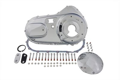V-Twin 43-0275 - Chrome Outer Primary Cover Kit