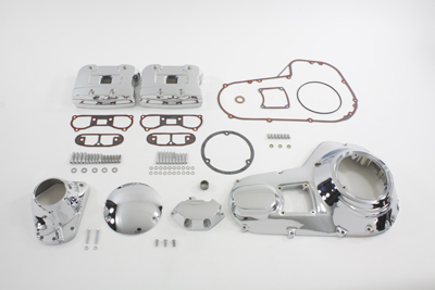 V-Twin 43-0514 - Chrome Engine Dress Up Kit