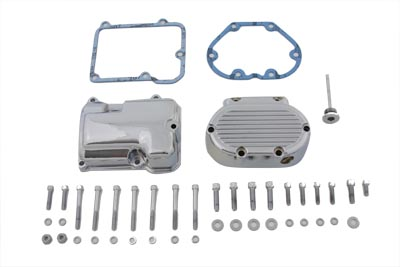 V-Twin 43-0791 - Transmission Side Cover and Top Cover Set Chrom