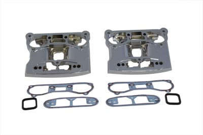 V-Twin 43-9168 - Lower Rocker Box Cover Chrome