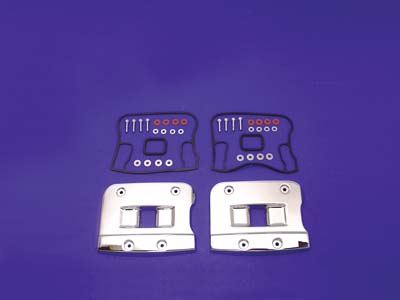 V-Twin 43-9170 - Top Rocker Box Cover Set Chrome