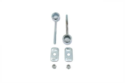 V-Twin 44-0399 - Zinc Rear Axle Adjuster Set