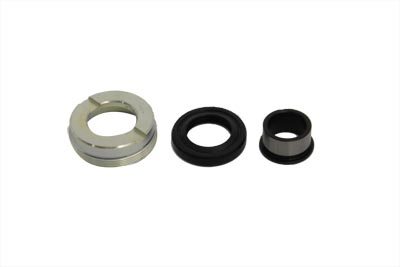 V-Twin 44-0412 - Zinc Wheel Hub Bearing Lock Nut Kit
