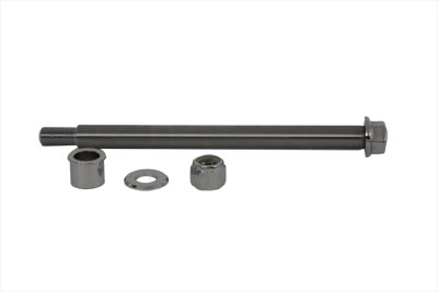 "V-Twin 44-0615 - Front Axle Kit Chrome 10"" Length"