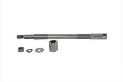 V-Twin 44-0675 - Chrome Front Axle Kit