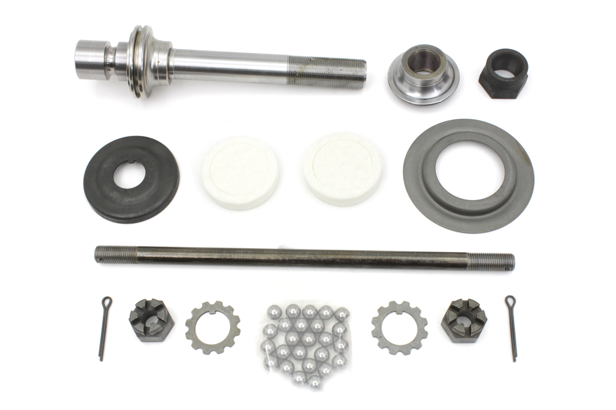 "45"" FRONT WHEEL AXLE KIT VTWIN 44-0716"