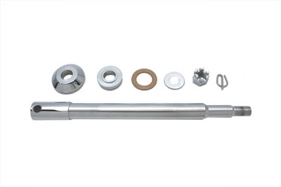 V-Twin 44-0796 - Chrome Front Axle Kit