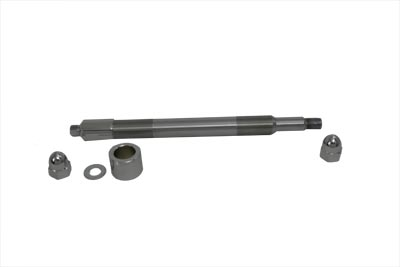 V-Twin 44-0843 - Chrome Front Axle Kit