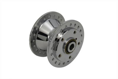 V-Twin 45-0292 - Chrome Front Wheel Hub