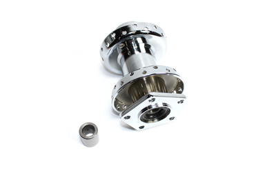 V-Twin 45-0295 - Chrome Front Wheel Hub
