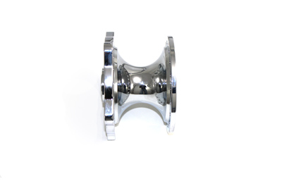 V-Twin 45-0307 - Chrome Front Wheel Hub Clover Style