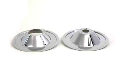"V-Twin 45-0689 - 16"" Front Wheel Cover Set Cast"